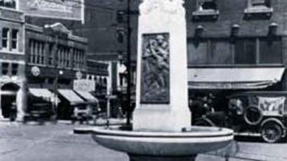 American Legion Memorial Drinking Fountain
