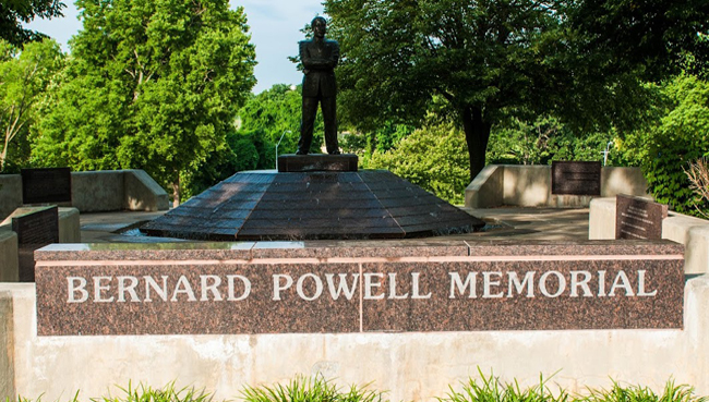 Bernard Powell Memorial Fountain