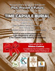 Time Capsule Burial Invitation