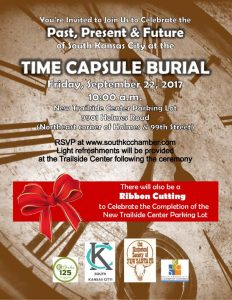 Time Capsule Burial Invitation
